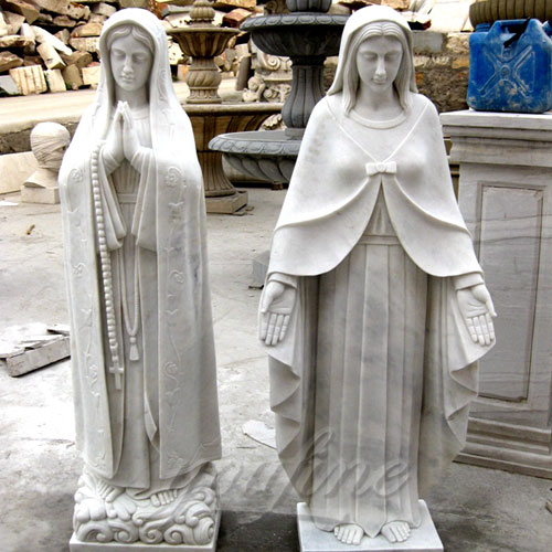2017 Directly Factory Marble Statue of the Blessed Virgin Mary Statue for Sale