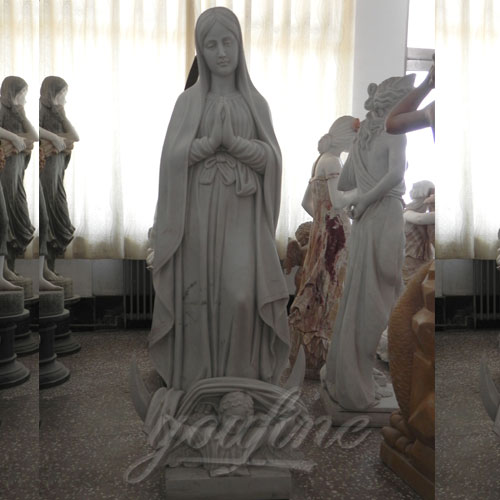 Famous Design Blessed Virgin Mary Outdoor Statue for Sale