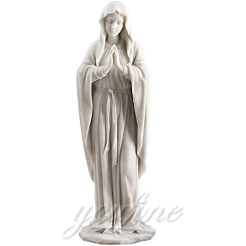 Popular Design Religious Marble Virgin Mary Statue for Hot Selling