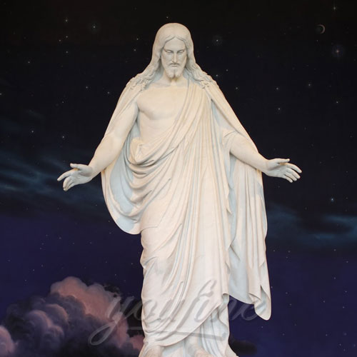 Wholesale Price Religious Hand Carved Church Jesus Statue