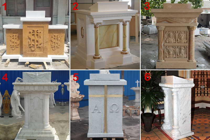 church marble pulpit designs