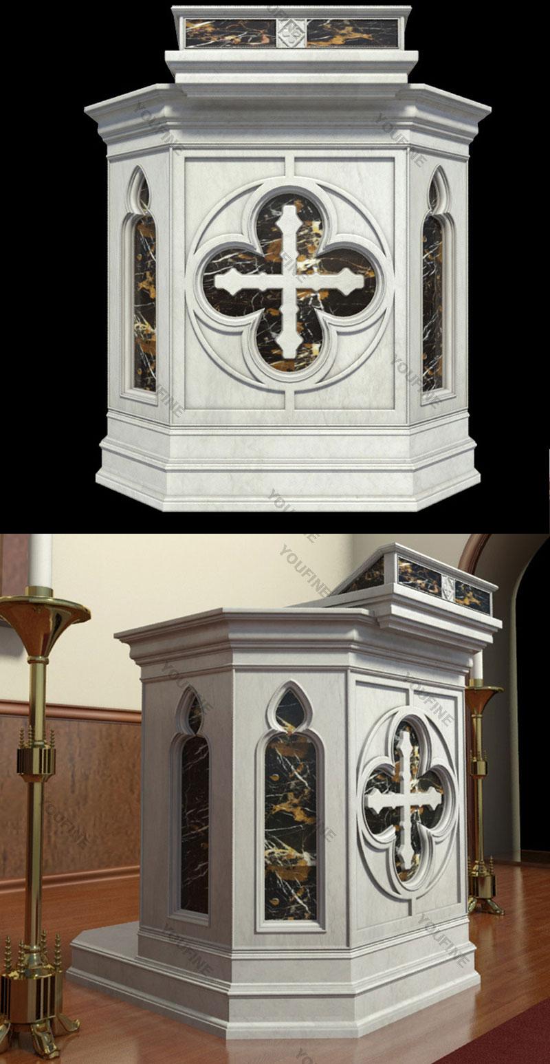 marble church pulpit design