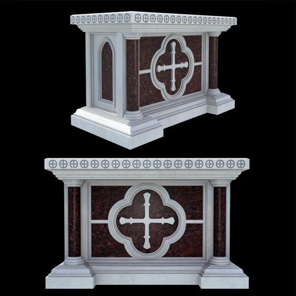 Great marble catholic church altar table designs