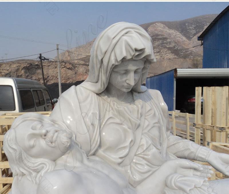life size famous religious pieta statue for sale
