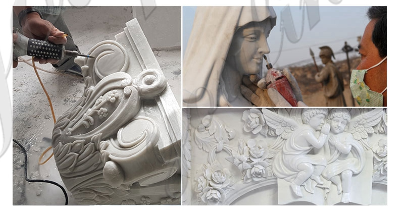 process of large catholic marble statues for sale