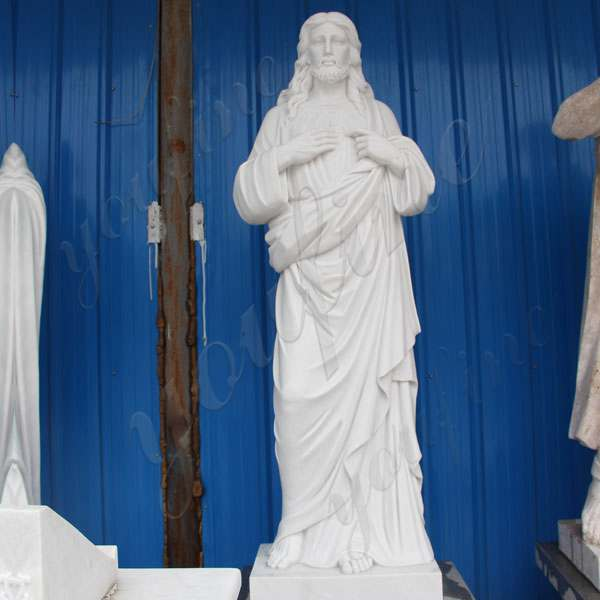 Life Size Marble Stone of Jesus Statue for Garden Decoration CHS-299