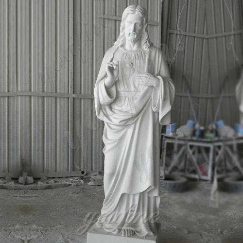 Marble Jesus Life Size Sculpture Supply with Competitive Price