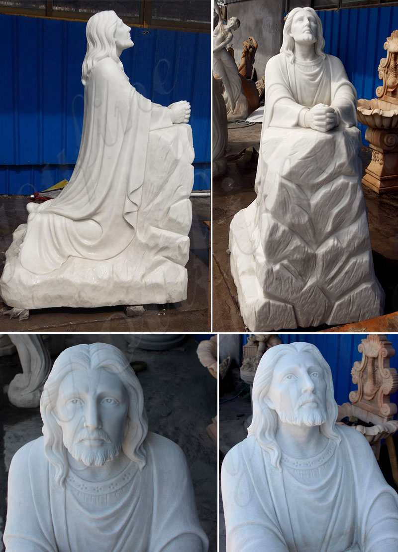 Our Lord Christ Jesus Praying and Kneeling Statue for San Lorenzo