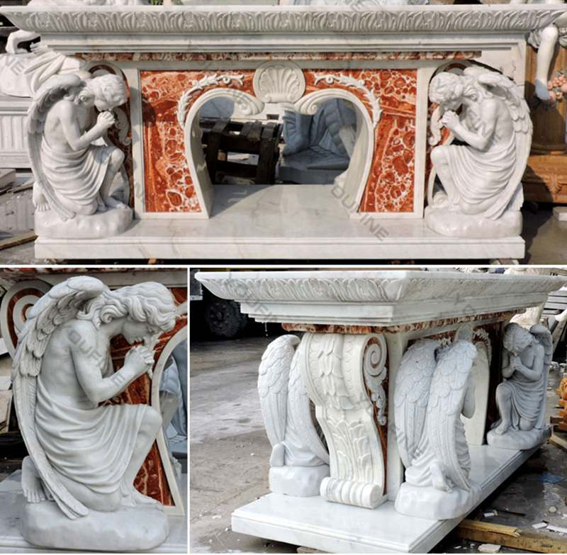Hand Carved Marble Stone Church Use Pulpit for Sale