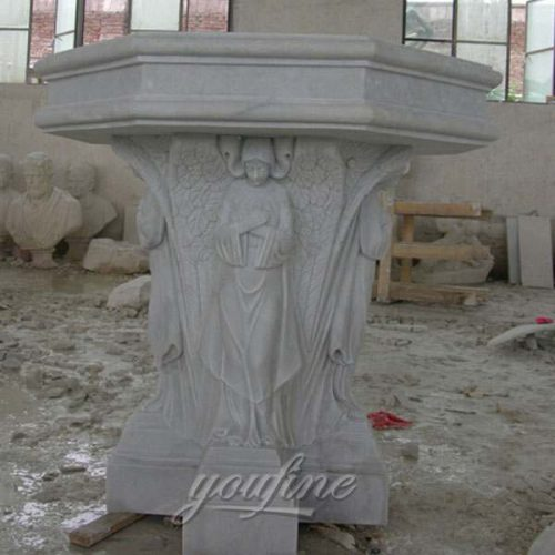 Hand Carved Marble Stone Church Use Pulpit in Stock