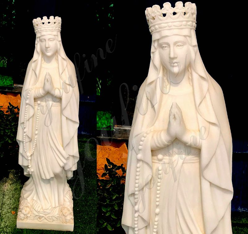 Catholic Life Size Our Lady of Lourdes Statue Outdoor