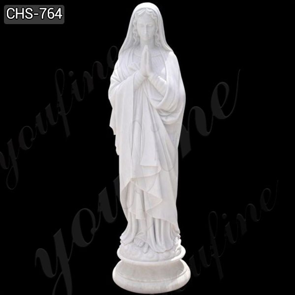 Hot Selling Life Size Blessed Mary Marble Statue from Factory Supply CHS-764