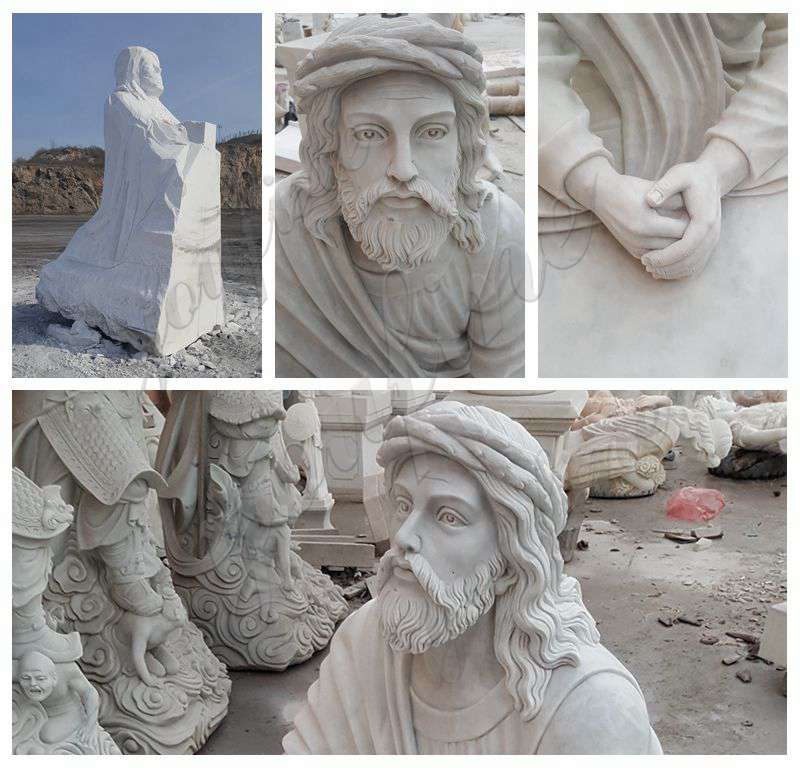 Catholic Marble Jesus Life Size Sculpture for Church