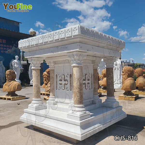 Factory Direct High Quality Marble Altar Design for Church CHS-816