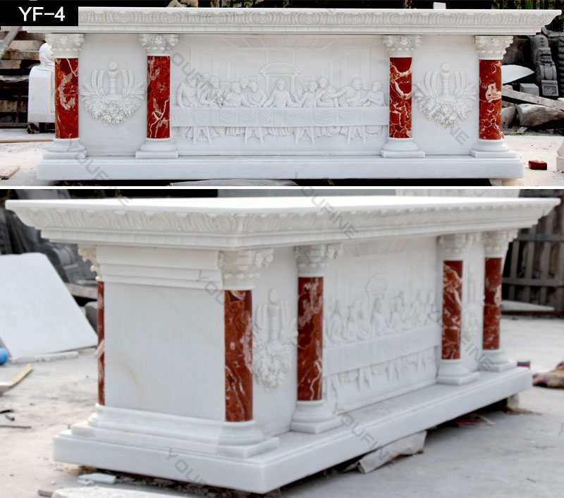 Natural White Marble Church Altar from Factory Supply