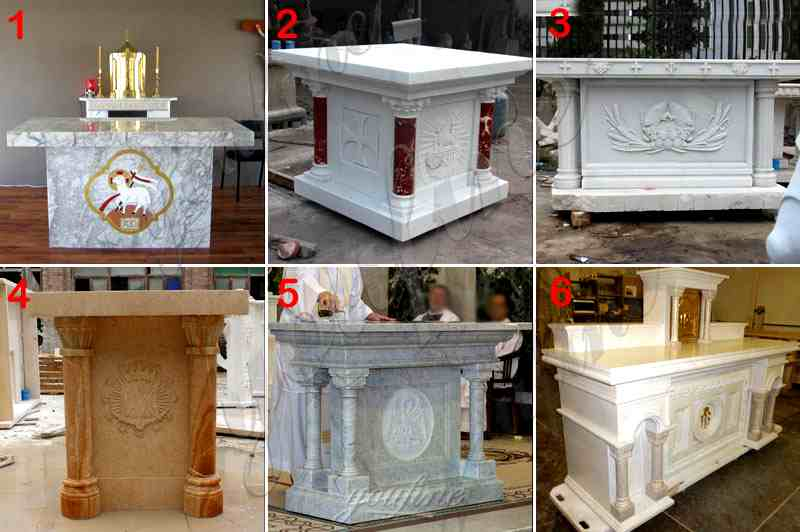 Catholic Marble Church Altars