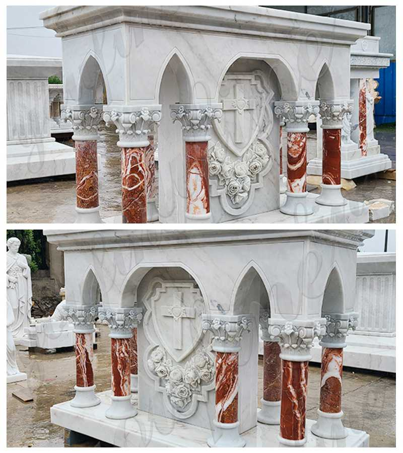 Large Luxurious Catholic Marble Church Altar