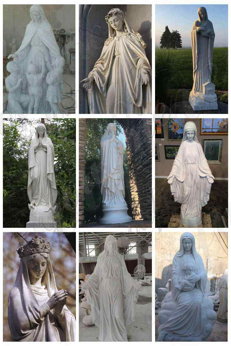 Mary-marble-statue for sale