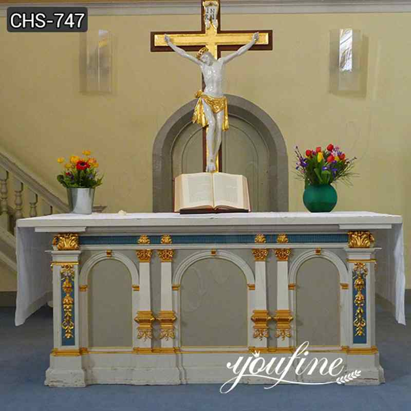 High Quality Modern Marble Church Altars Factory Direct for Sale CHS-747