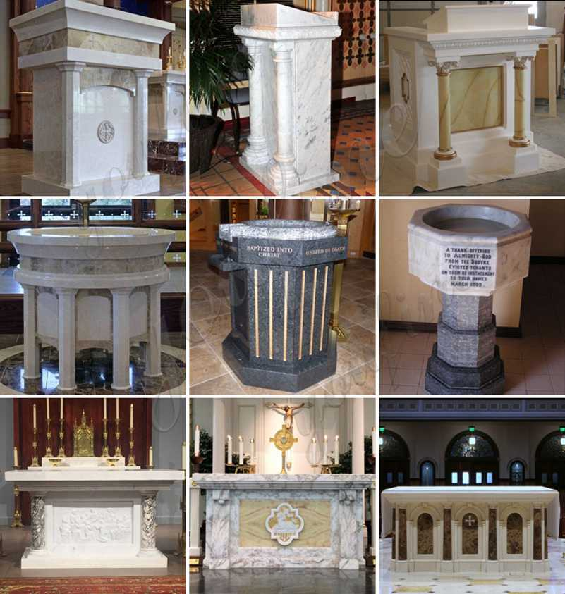 Marble Church Altars Factory Direct for Sale