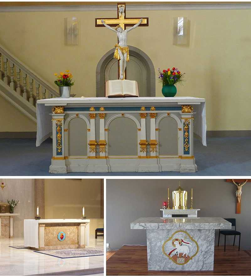 Modern Marble Church Altars Factory Direct for Sale