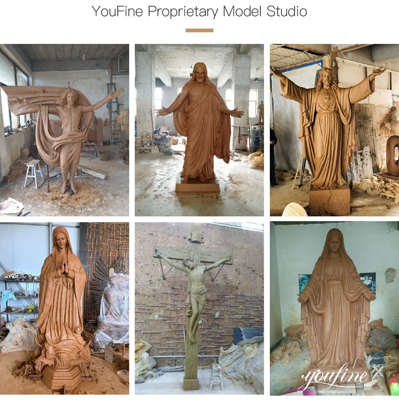 jesus marble statue