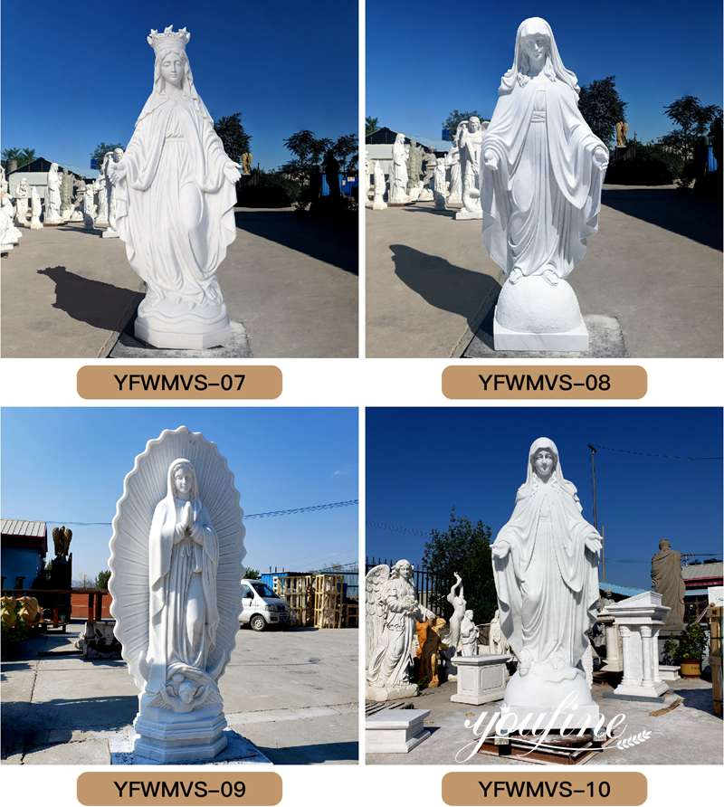 virgin of guadalupe statue
