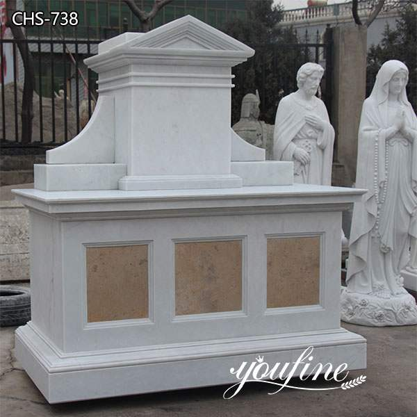 Natural Marble Altar Table Church Factory Supply CHS-738
